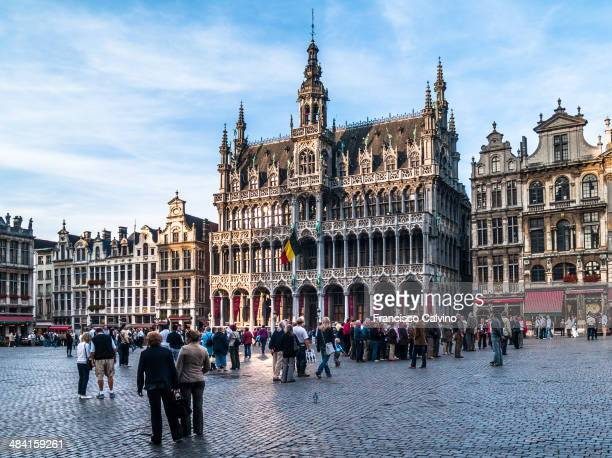 Town Hall of the city of Brussels located at the Grand Place Belgium