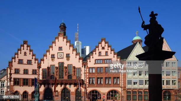 Town Hall Roemer, Frankfurt am Main, Hesse, Germany, Europe