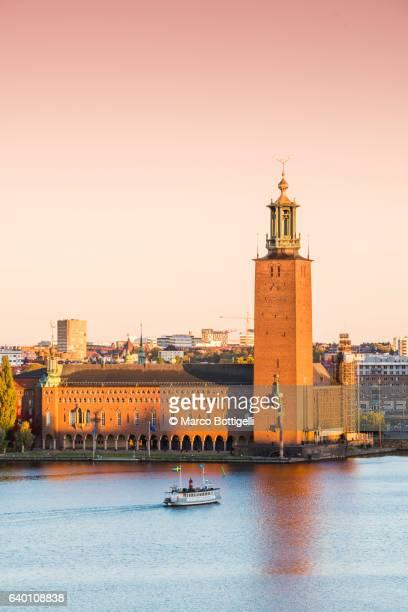 Town Hall, Stockholm, Sweden, Scandinavia, Northern Europe.