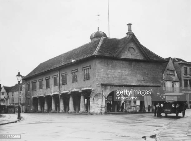 Town Hall Tetbury Gloucestershire circa 1930