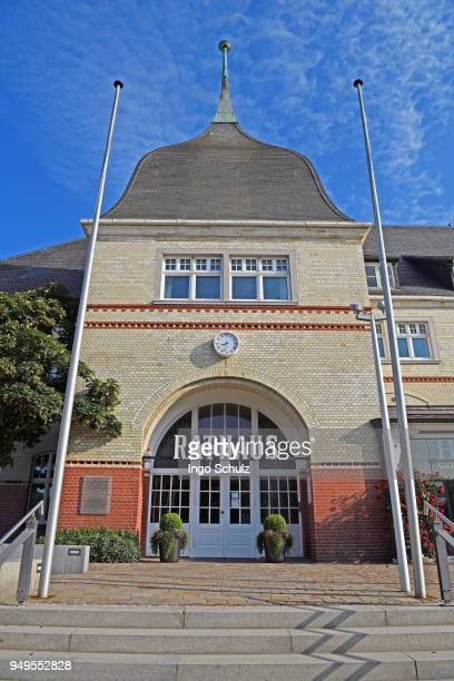 Town hall, Westerland, Sylt, North Frisian Islands, North Frisia, Schleswig-Holstein, Germany
