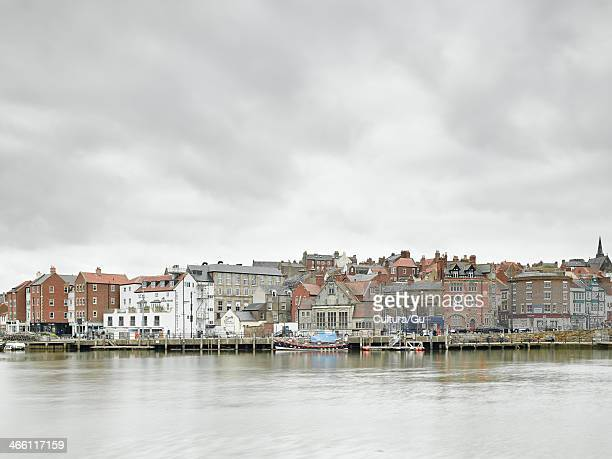 Town harbour, Whitby, England