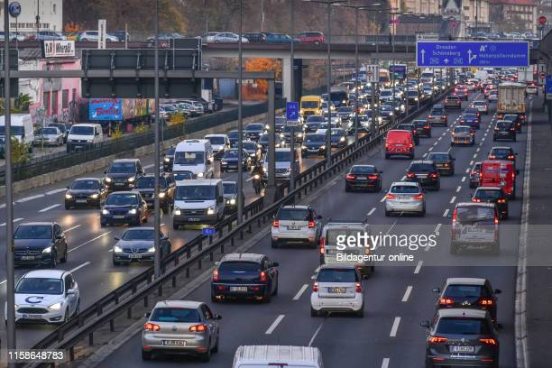 Town highway A 100 village Wilmers Berlin Germany Stadtautobahn A 100 Wilmersdorf Germany