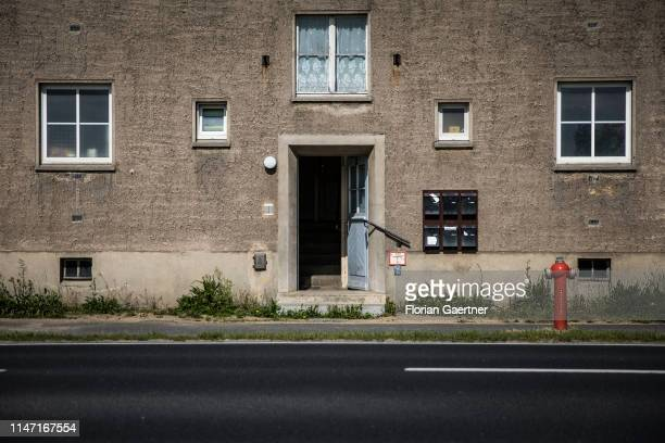 A town house is pictured on May 31 2019 in Niesky Germany
