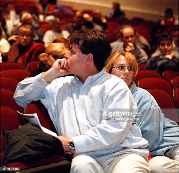 01/22/98 Town meeting on the Saudi School held in Broad Run High School Ashburn VA During the town meeting an undicided couple This is Adam O'Kane...