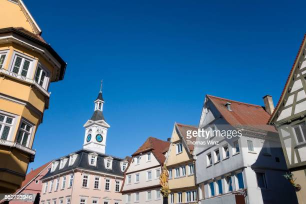 town of aalen - baden württemberg stock pictures, royalty-free photos & images