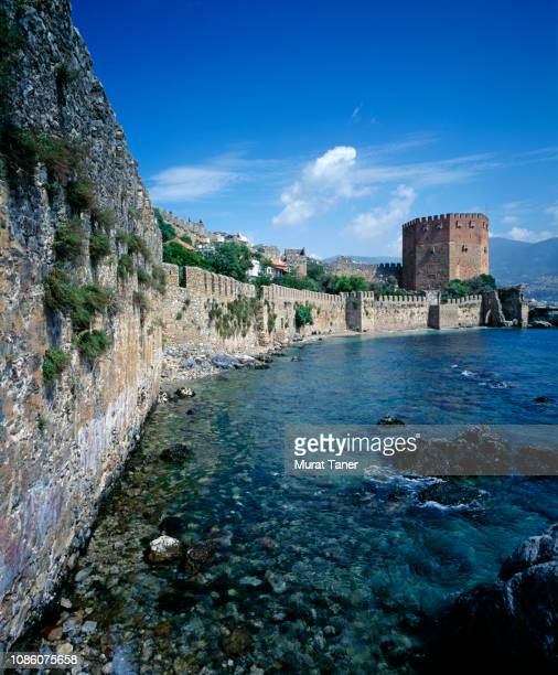 Town of Alanya on the Mediterranean