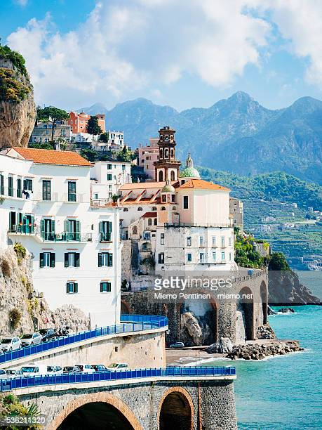 Town of Amalfi on the Amalfi Coast, Italy