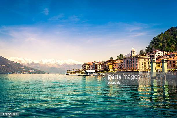 Town of Bellagio on Como Lake, National Landmark, Italy