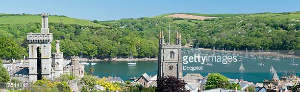 Town of Fowey in Cornwall UK