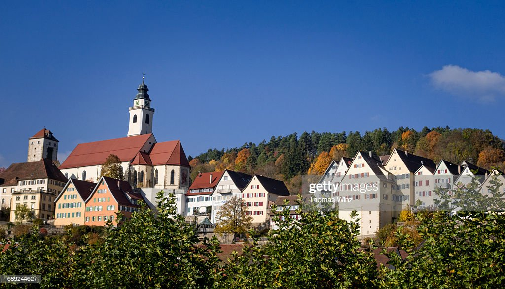 Town Of Horb : Stock Photo