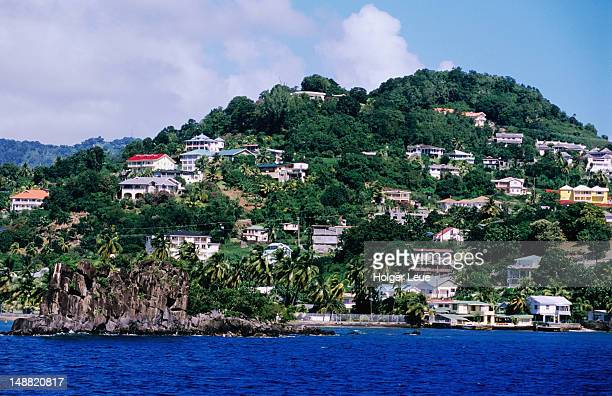 town of kingstown. - kingstown stock pictures, royalty-free photos & images