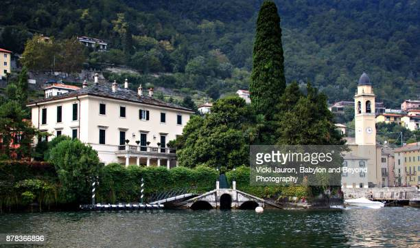 Town of Laglio on the Shores of Lake Como
