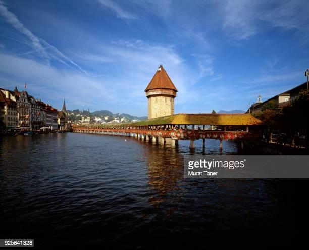 Town of Lucerne in Switzerland