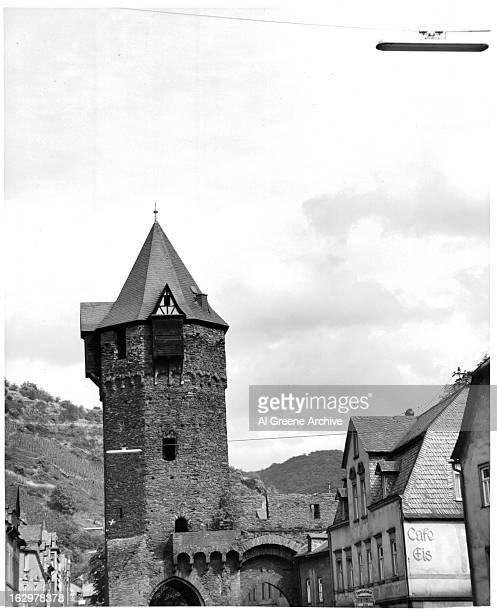 Town of Marksburg Germany 1955