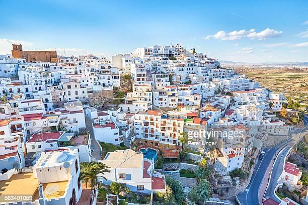 town of mojacar - アルメリア ストックフォトと画像