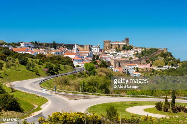 Town of Obidos Portugal and its Wall and Castle