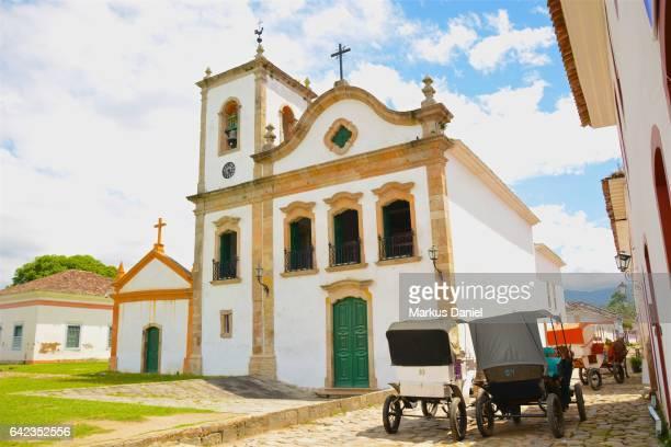 "town of paraty, rio de janeiro - ""markus daniel"" stock pictures, royalty-free photos & images"
