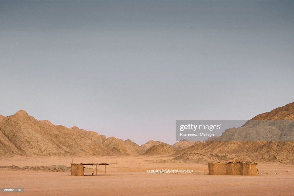 A town of sand : Stock Photo