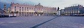panoramic view place stanislas square with