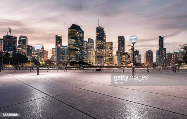 town square, brisbane - brisbane stock photos and pictures