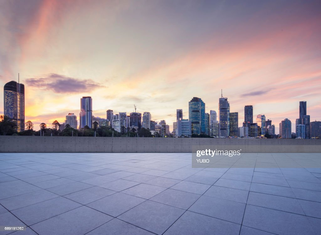 Town Square, Brisbane : Stock Photo