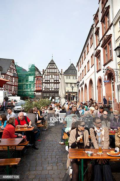 Town square of Limburg, Germany