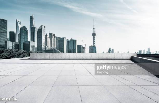 town square - pudong stock pictures, royalty-free photos & images