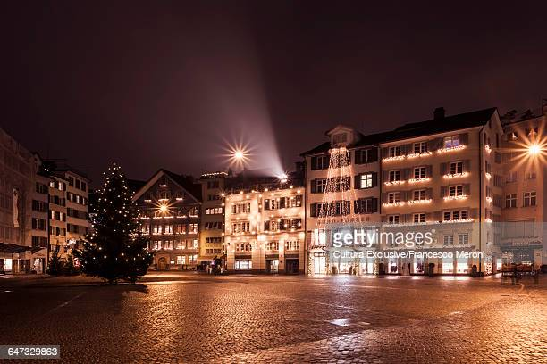 Town square, Zurich, Switzerland