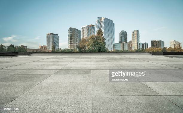town square,seattle - pavement stock pictures, royalty-free photos & images