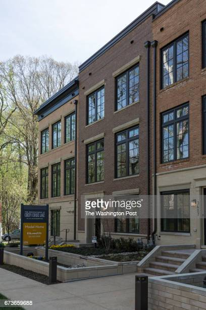Townhomes at Chevy Chase Lakes on April 12 2017 in Chevy Chase Maryland