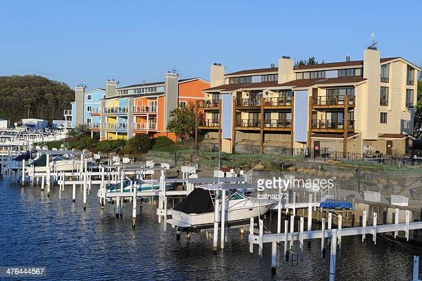 Townhouses and Boat Docks