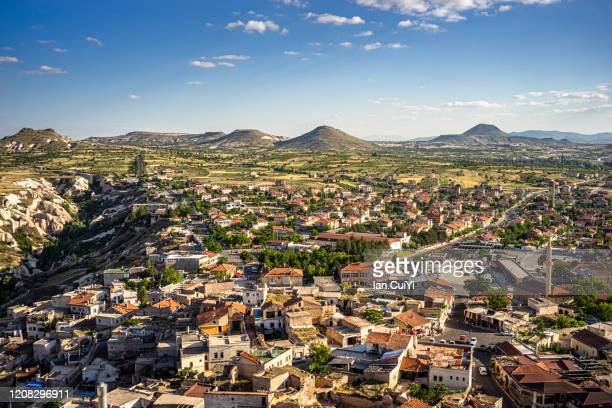 townscape, mustafapaşa, nevşehir province, cappadocia, central anatolia region, anatolia, turkey, asia - ネヴシェヒル県 ストックフォトと画像