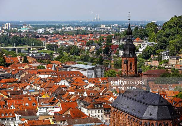 townscape - heidelberg stock photos and pictures