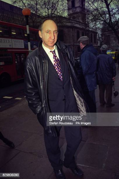 Townshend ARRIVES AT THE HIGH COURT IN LONDON TO GIVE EVIDENCE IN THE CASE OF MARCHIONESS DISASTER VICTIM JO WELLS WHO CLAIMS SHE HAD TO GIVE UP A...