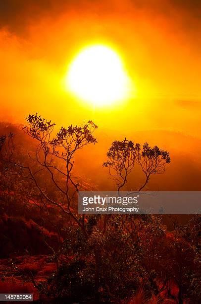 Townsville at sunset