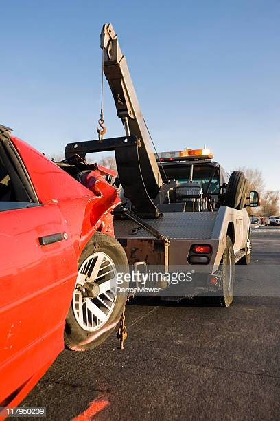 towtruck - tow truck stock photos and pictures
