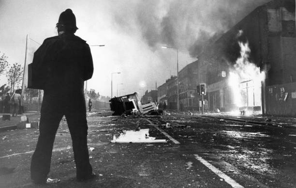 GBR: 10th July 1981 - Urban Rioting Breaks Out Across The UK