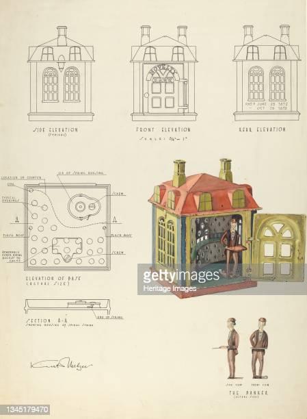 Toy Bank, 1935/1942. Artist Kurt Melzer.