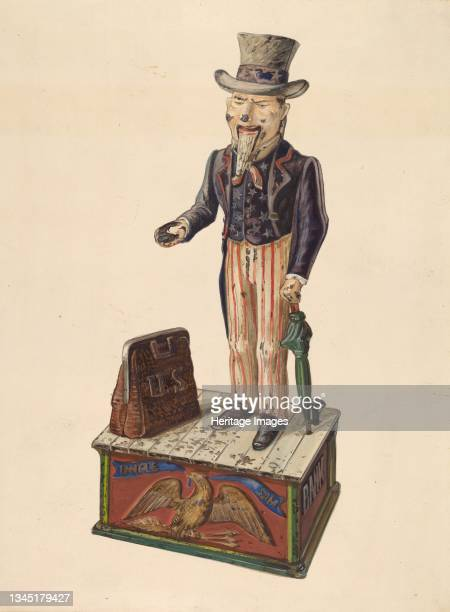 Uncle Sam, circa 1937. Artist Kurt Melzer.