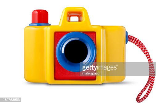 Toy Camera Stock Photo   Getty Images
