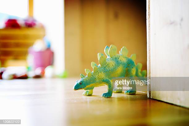 toy dinosaur in playroom