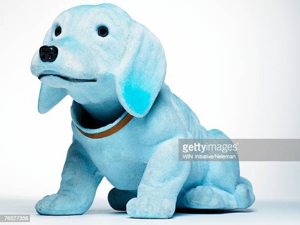 toy dog - bobble head doll stock photos and pictures
