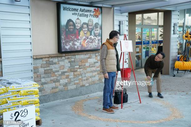 SUPERSTORE Toy Drive Episode 508 Pictured Fred Armisen as Kyle Nico Santos as Mateo