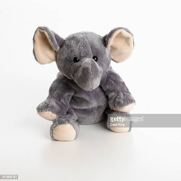 toy elephant - stuffed toy stock pictures, royalty-free photos & images