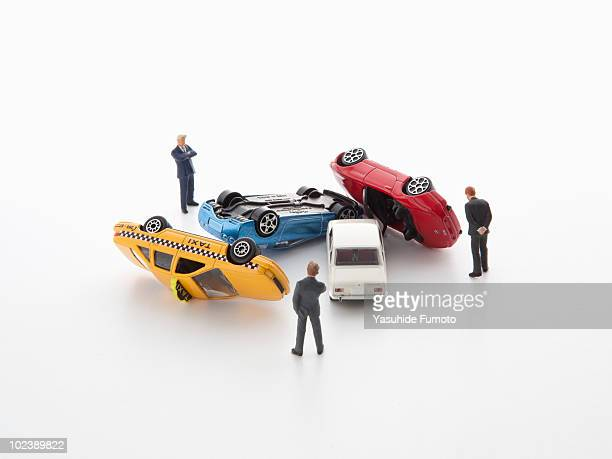 Toy Car Crash Stock Photos And Pictures Getty Images