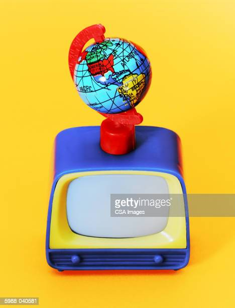 Toy Globe on Television