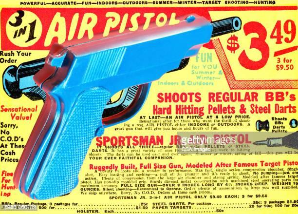 Toy Gun, Air Pistol Ad