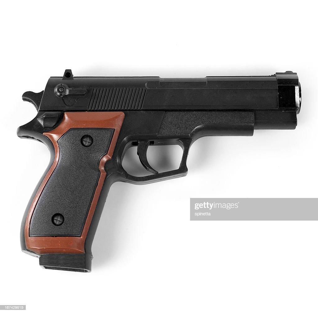 Arma de Brinquedo : Foto de stock