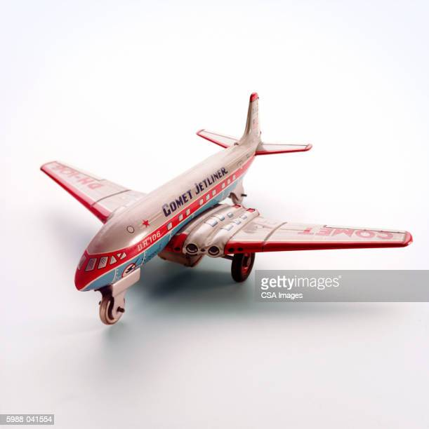 Toy Jet Passenger Airplane